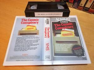 THE COSMIC CONSPIRACY (1983) - RARE Oz Academy Vhs - STAN DEYO - SHOCKUMENTARY