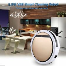 ILIFE V5S Pro Wet/Dry Floor Mopping Robot Vacuum Cleaner Automatic Sweeper Gold