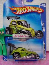 2009 Hot Wheels FIAT 500 #163/190 ~Antifreeze Green (ړײ) Modified Rides 🚙