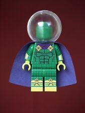 CUSTOM Pupazzetto come Mysterio con chiare casco stampati su parti LEGO