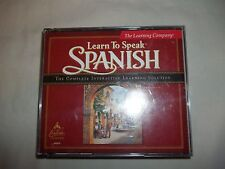 The Learning Company Learn to Speak Spanish 7.0 3 disc