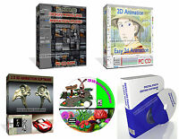 2D 3D Graphics Animation Software Create Full Cartoons Modelling Graphic Design