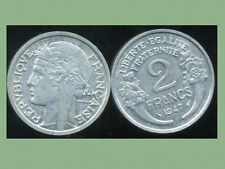 2 FRANCS  morlon alu 1947  SUP +