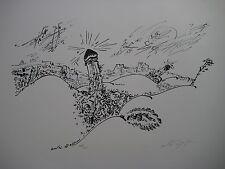 MASSON ANDRE LITHOGRAPHIE SIGNÉE AU CRAYON NUM/125 HANDSIGNED NUMB LITHOGRAPH