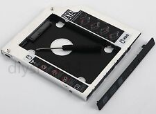 2nd SATA Hard Drive HDD SSD Frame Caddy for HP EliteBook 2530P 2540p 2560p 2570p