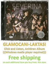 CD+DVD SEVERINA - DOBRODOSAO U KLUB LIVE koncert 2014 + UNO MOMENTO + MORE TUGE