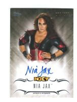 WWE Nia Jax 2016 Topps Undisputed On Card Autograph SN 279 of 299