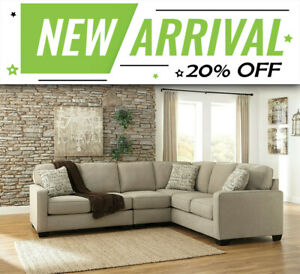 Fitzroy 6 Seater Sofa Modular Fabric Lounge Suite