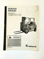 Kalmar 4060bxh Forklift Tow Motor Service Manual