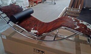 matelas pour chaise longue Bauhaus poney marron blanc noir Tricolor