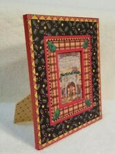"""Mary Engelbreit """"Be Warm Inside & Out"""" Photo Frame Michel & Company Me Ink 1997"""