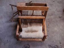 Antique/Vintage Table Top Loom Weave