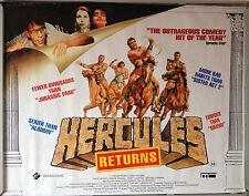 Cinema Poster: HERCULES RETURNS 1993 (Quad) David Argue Michael Carman