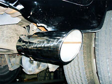 """UNIVERSAL PICK UP TOW TRUCK 4"""" X 6"""" X18"""" STAINLESS EXHAUST DIESEL DUALLY TIP"""