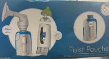 Kiinde Breast Milk Storage Twist Pouch (6 Oz - 160 Pack)- New
