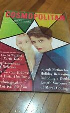 vintage Cosmopolitan December 1958