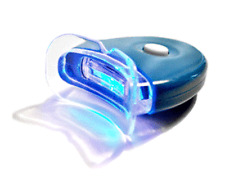 NEW LED Blue Plasma Hands-free Teeth Whitening Accelerator Light w/ Batteries