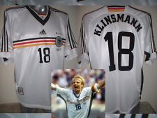 Germania Crystall Camicia JERSEY SOCCER TRIKOT ADIDAS VINTAGE per adulti XXL Deutscher