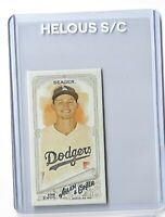 Corey Seager Los Angeles Dodgers 2018 Allen Ginter Rip Mini Exclusive #376 SSP