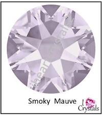 SMOKY MAUVE Swarovski 5mm 20ss Crystal Flatback Rhinestones 2088 Xirius 12 pcs