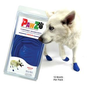Pawz Rubber Dog Boots Medium, Premium Seller, Fast Dispatch