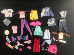 Vintage Barbie Skipper Clothes 1980s Lot