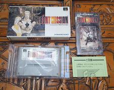 Front Mission - Super Famicom  - complete - Near Mint - NTSC-J