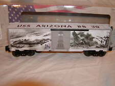 Lionel 6-83779 U.S.A. 75th Anniversary Pearl Harbor WWII Box Car O 027 2017 Mint
