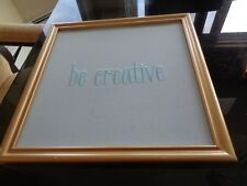 Pottery Barn Kids Sentiment Pinboard Be Creative new with marks see photos #2