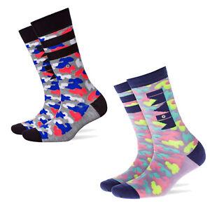 Burlington Damen Socken 2er Pack Miami Twins Camouflage Neon 36-41