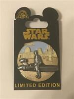 2016 STAR WARS PIN OF THE MONTH: TATOOINE SKYWALKER LE 6000 DISNEY PIN 117246