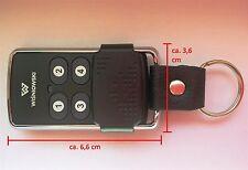 Funkfernbedienung Funkhandsender Wisniowski COVER schwarz - kompatibel zu 4GO