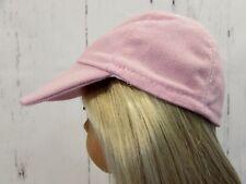 "Pink Baseball Hat fits American Girl Dolls 18"" Dolls - Fits Logan - Boy Dolls"