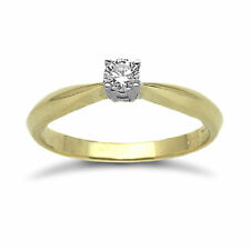 Engagement Solitaire Precious Metal Rings without Stones