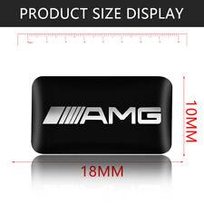 For Mercedes Benz  4 x  emblem sticker 18mm x 10mm 3D logo