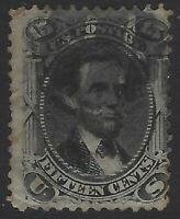 US Stamps - Scott # 77 - 15c Lincoln - Great Looking Filler!             (L-684)