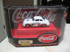 COCA COLA  MATCHBOX 1:43 SCALE 1958 PORSCHE 356A COUPE- A DRINK FOR ALL SEASONS