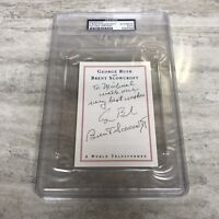 President George H. W. Bush PSA/DNA Authentic Signed Autograph Bookplate
