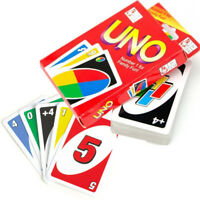 UNO CARD GAME 108 PLAYING CARDS CLASSIC FAMILY FUN TRAVEL PARTY XMAS GIFT NEW