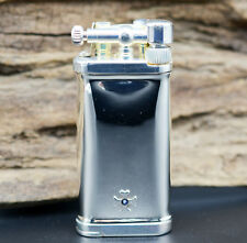 Sillems ITT IM Corona Old Boy 925 Sterling-Silber Pfeifen Feuerzeug glatt