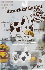 "KIDROBOT Frank Kozik 2.5"" Mad Cow Smorkin Labbit"