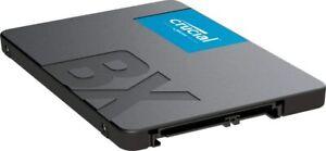 DISCO DURO SOLIDO SSD CRUCIAL BX500 480GB  SATA3 3D NAND 2,5¨ NUEVO - 480 GB