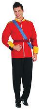 Adult Royal Prince William Jacket Costume Mens Military