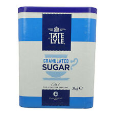 Tate and Lyle Granulated Sugar 3Kg Tub (TS165 A03917)