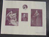 1903 /  Zeitungsdruck 2 / Maler Wedepohl Luise Dumont Elisabeth Plauert  Studt