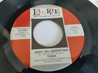 """THINK - Once You Understand / Gather (NM-) 1971 POP PSYCH ROCK Laurie 7"""""""