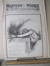 Vintage Print,AFTER ALL,Oct 1881,Th.Nast,Harpers,Political Cartoon