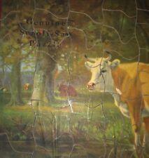 Antique Toy Puzzle Madmar Utica NY Scroll Saw Cow Original Box RARE