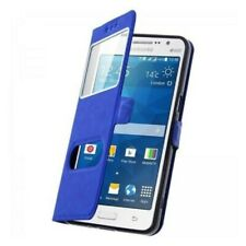 Etui Housse Coque Pochette Interieur Silicone Bleu Samsung Galaxy Ace 4 G357