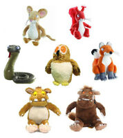 Gruffalo Character Branded Soft Toys Stickman, Fox, Squirrel, Snake, Mouse